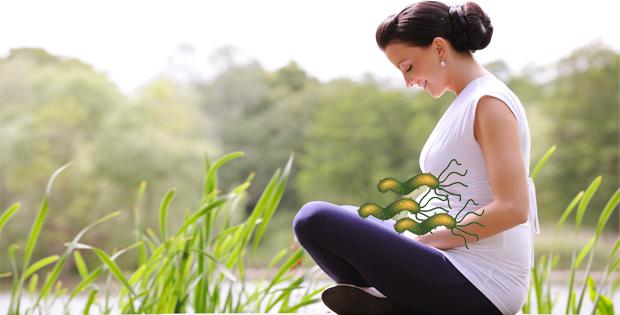 nhiễm vi khuẩn hp khi mang thai